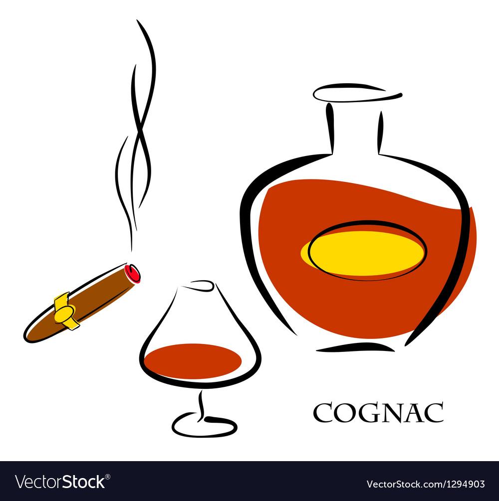 Cognac vector | Price: 1 Credit (USD $1)