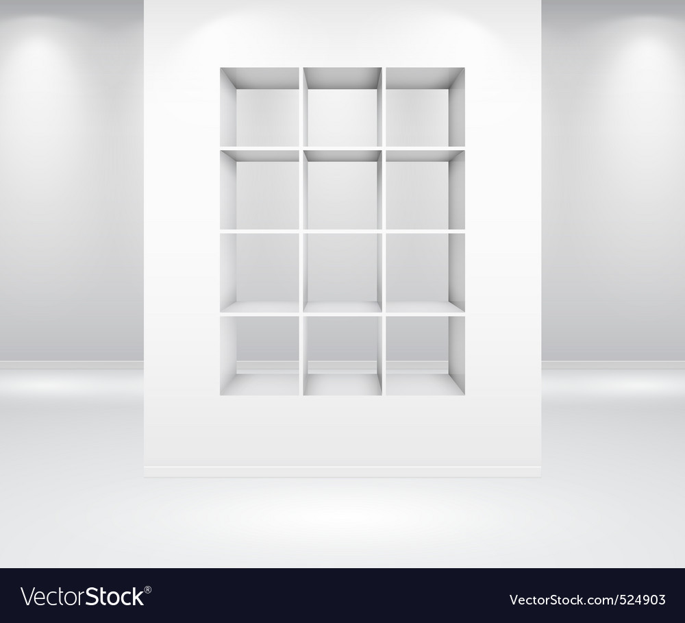 Gallery interior vector | Price: 3 Credit (USD $3)