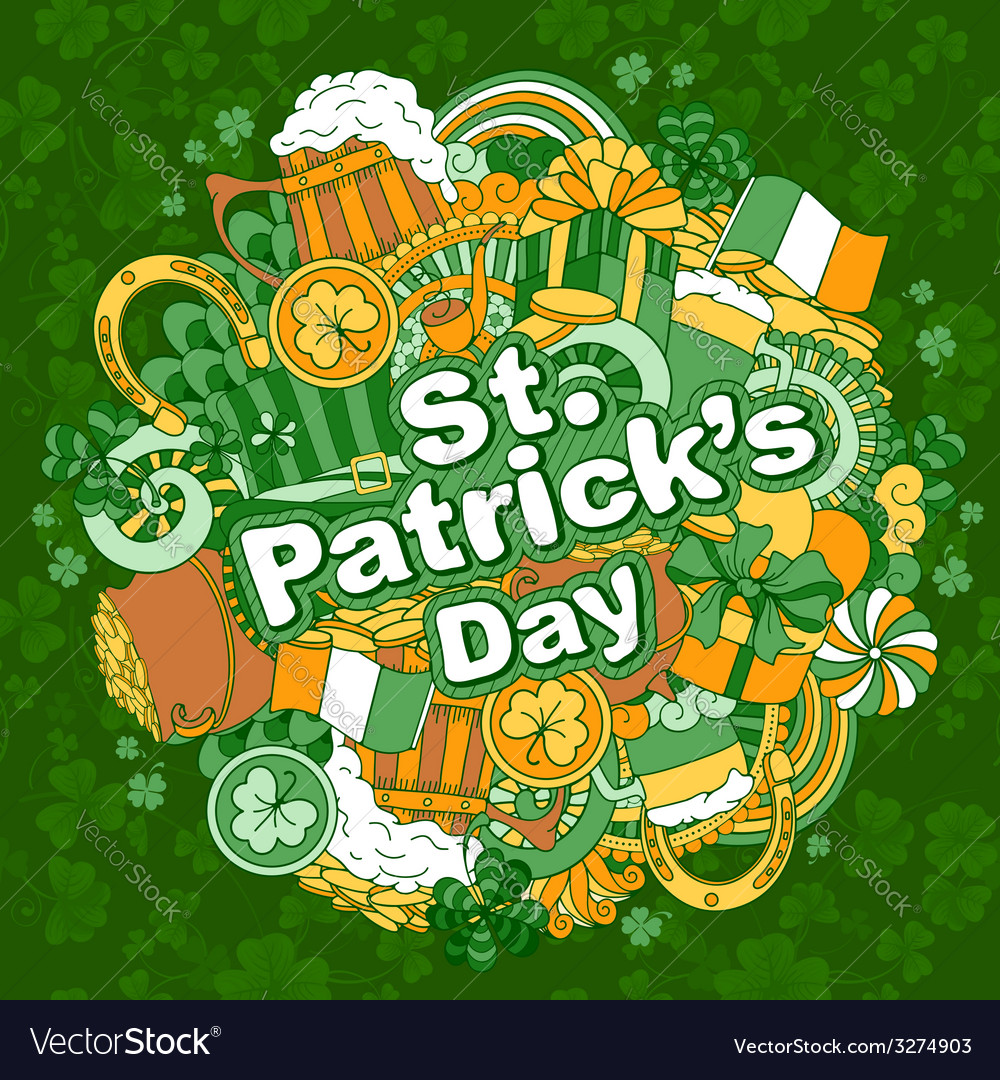 Saint patricks day vector | Price: 1 Credit (USD $1)