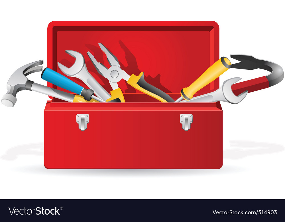Toolbox vector | Price: 3 Credit (USD $3)
