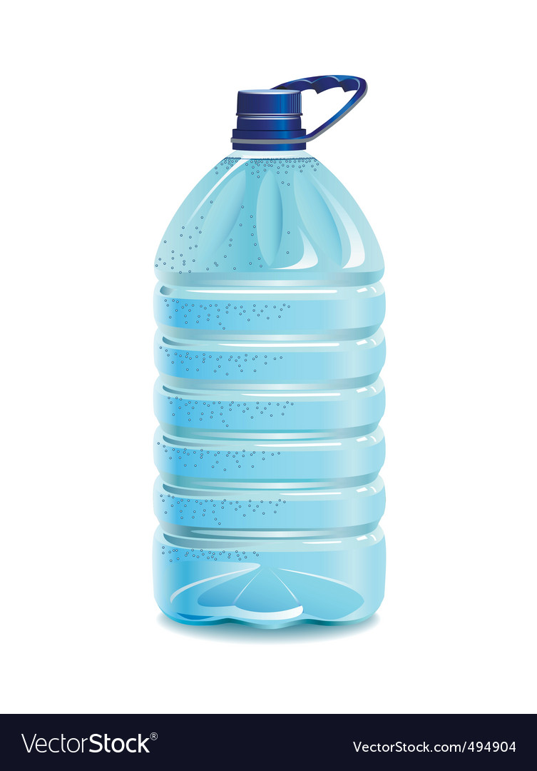 Bottle of water vector | Price: 3 Credit (USD $3)