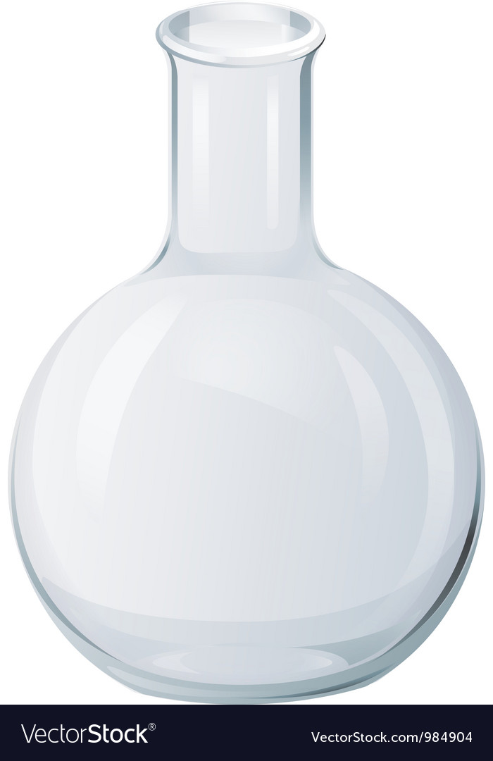 Round bottom flask vector | Price: 1 Credit (USD $1)