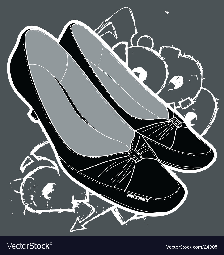 Women's shoes vector | Price: 1 Credit (USD $1)