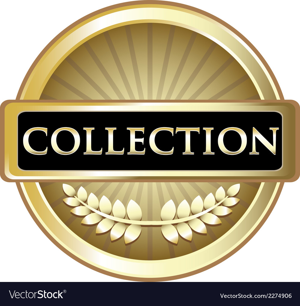 Collection gold vintage label vector | Price: 1 Credit (USD $1)