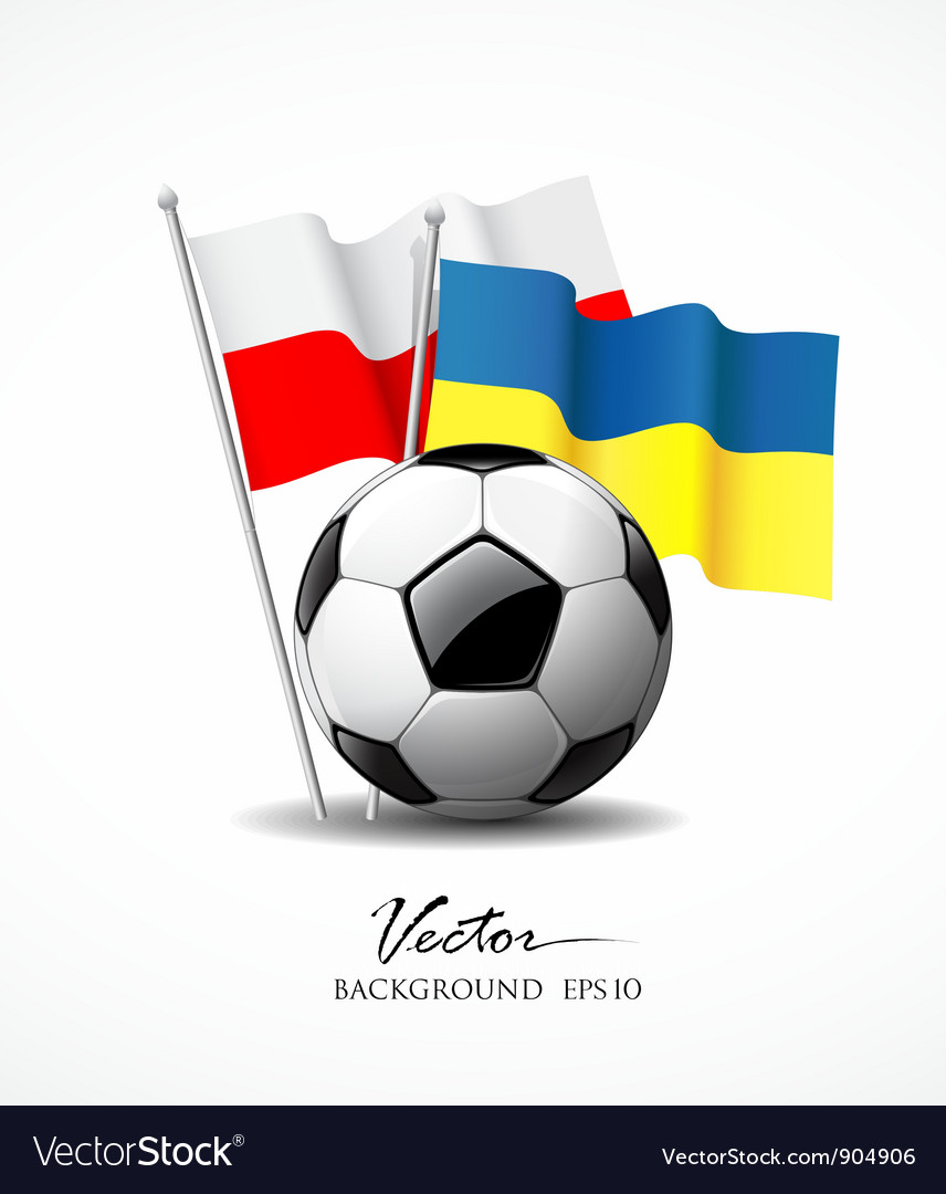 European football 2012 vector | Price: 3 Credit (USD $3)