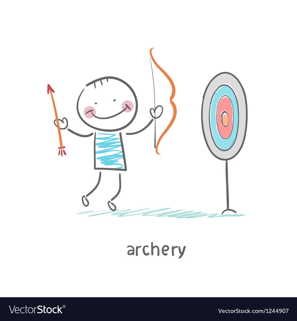 Archer vector | Price: 1 Credit (USD $1)
