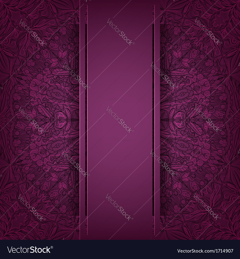 Lace purple background vector | Price: 1 Credit (USD $1)