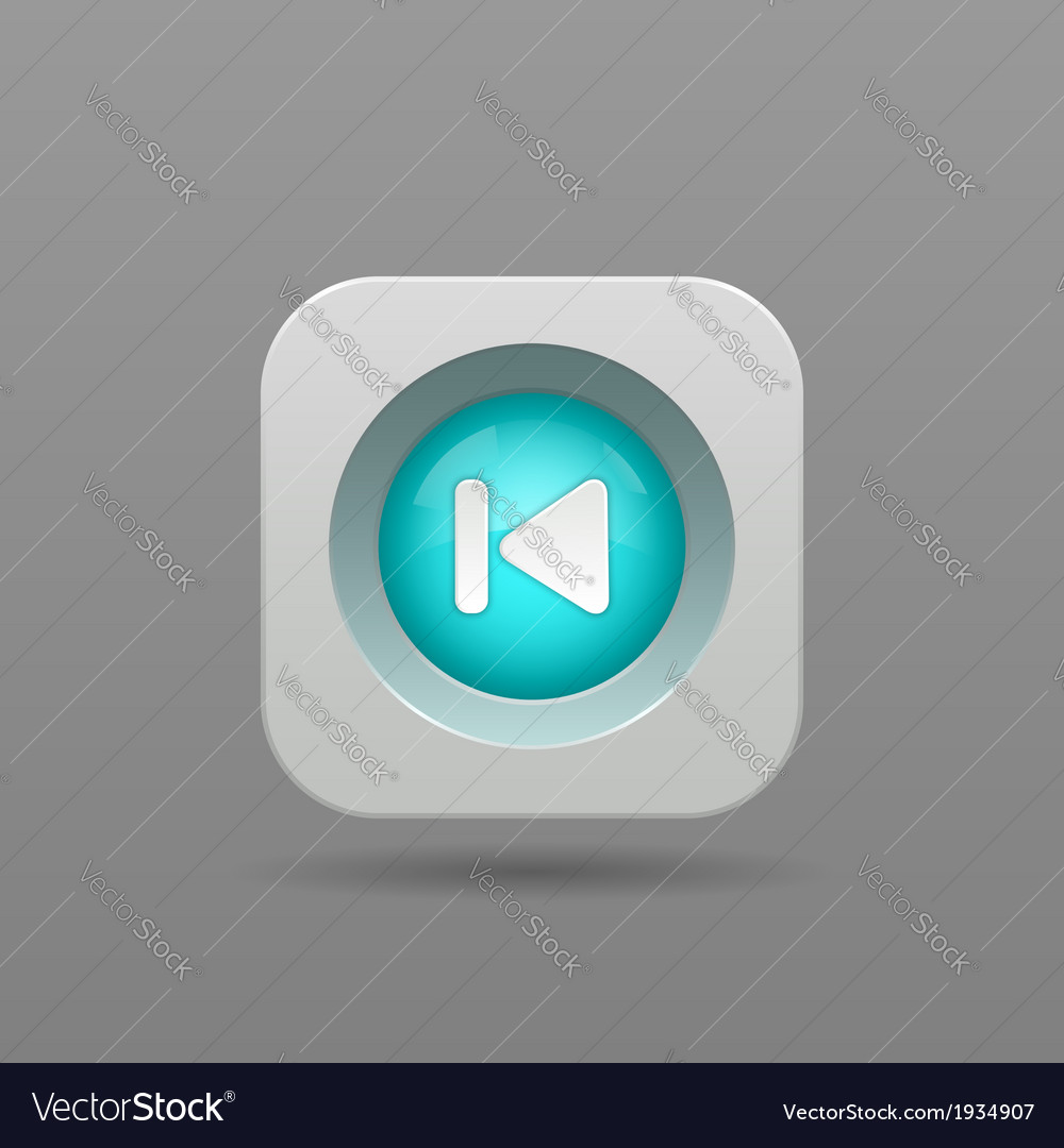 Previous button vector | Price: 1 Credit (USD $1)