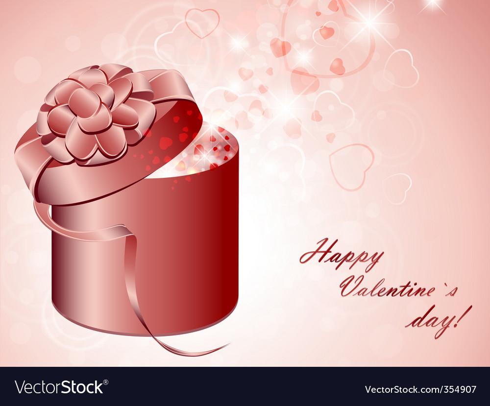 Valentine present vector | Price: 1 Credit (USD $1)
