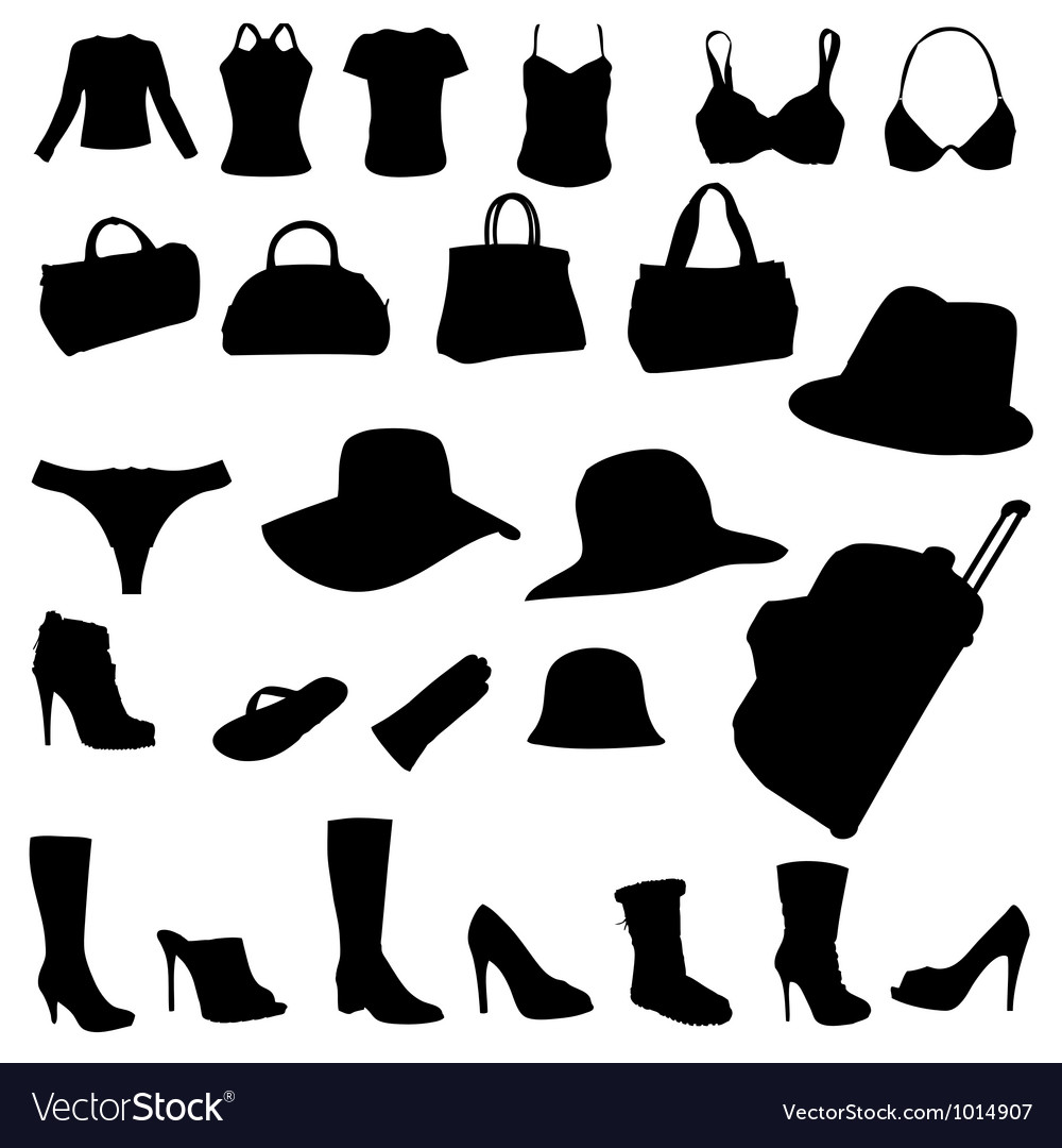 Woman accessory vector | Price: 1 Credit (USD $1)