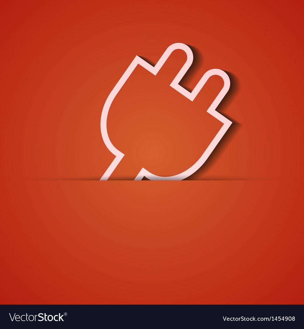 Background orange icon applique eps10 vector | Price: 1 Credit (USD $1)