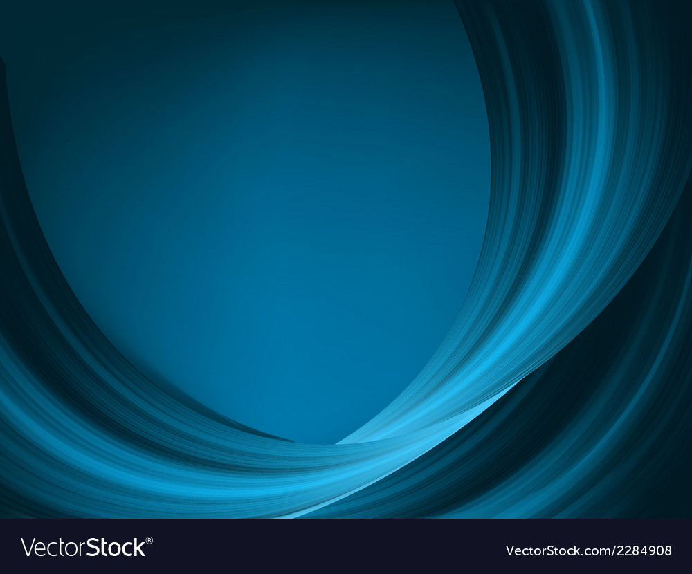 Blue light wave eps 8 vector | Price: 1 Credit (USD $1)