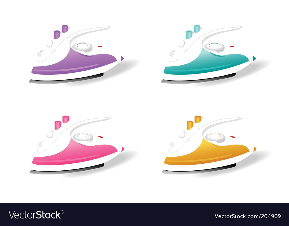 Electric irons vector | Price: 1 Credit (USD $1)