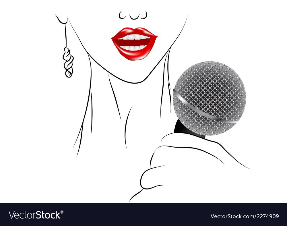 Singing vector | Price: 1 Credit (USD $1)