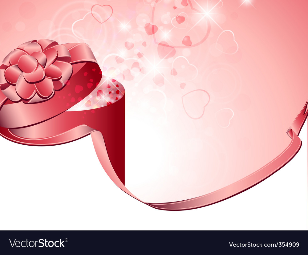 Valentine present vector | Price: 1 Credit (USD $1)
