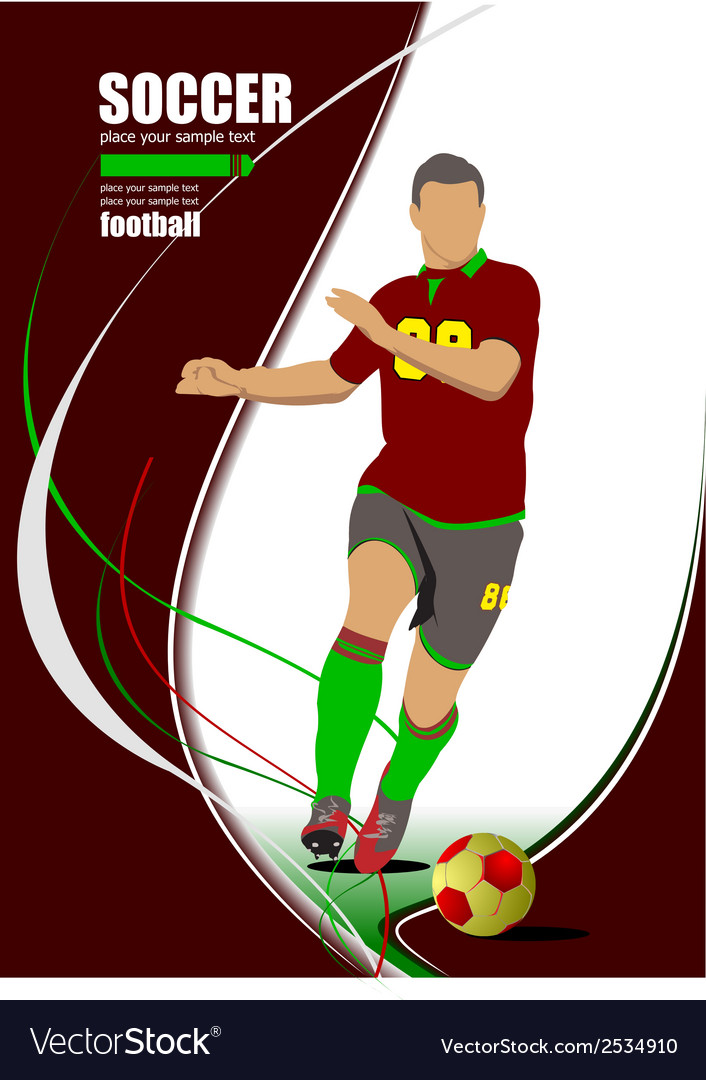 Al 0606 soccer 01 vector | Price: 1 Credit (USD $1)