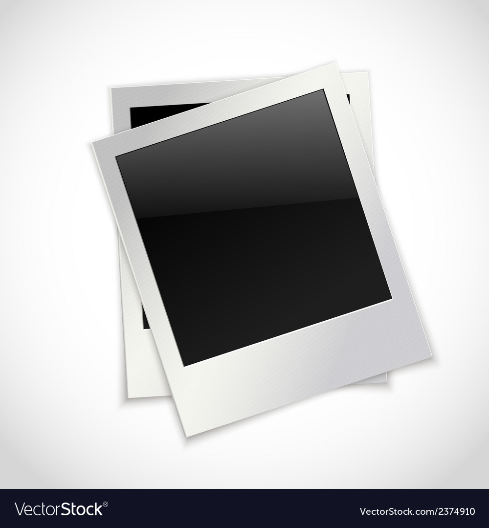Photo frames isolated vector | Price: 1 Credit (USD $1)