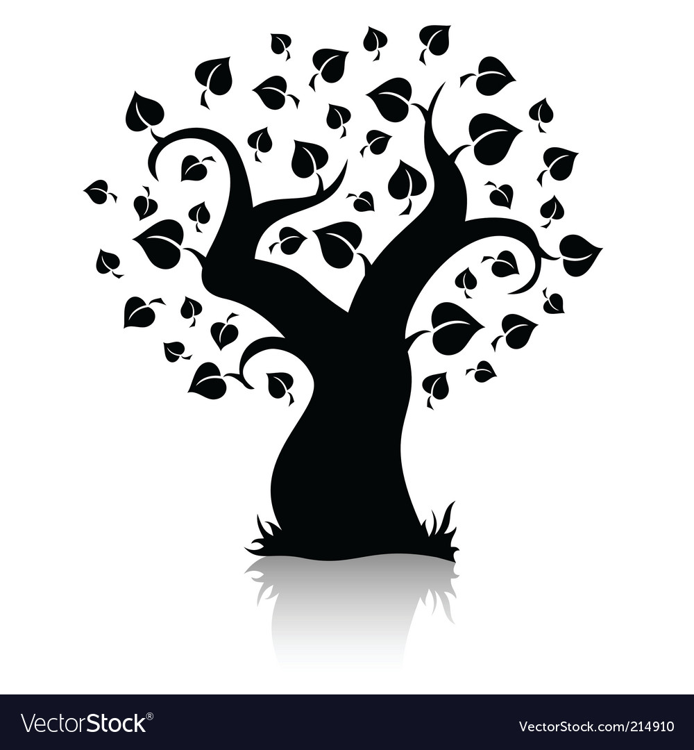 Tree shape vector | Price: 1 Credit (USD $1)