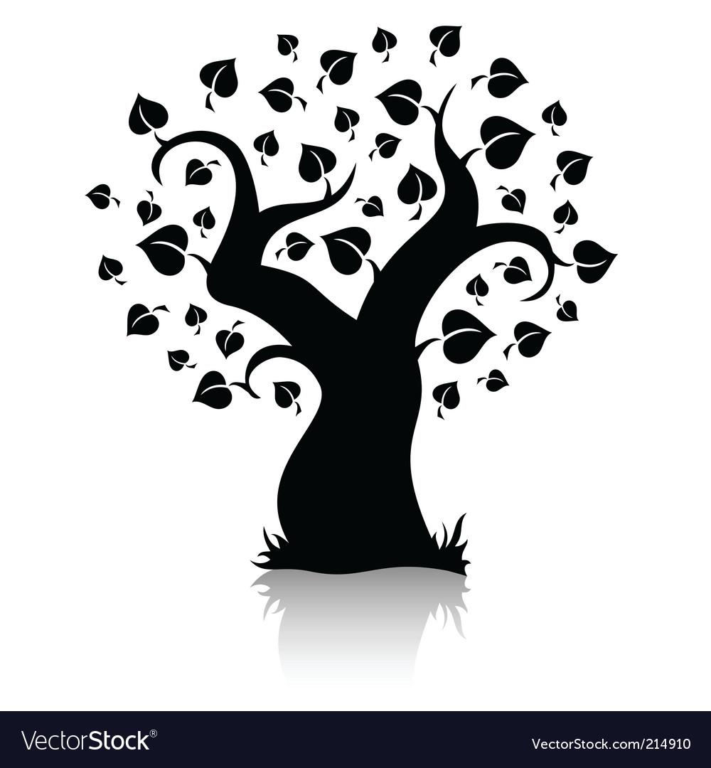 Tree shape vector | Price: 1 Credit (USD $1)