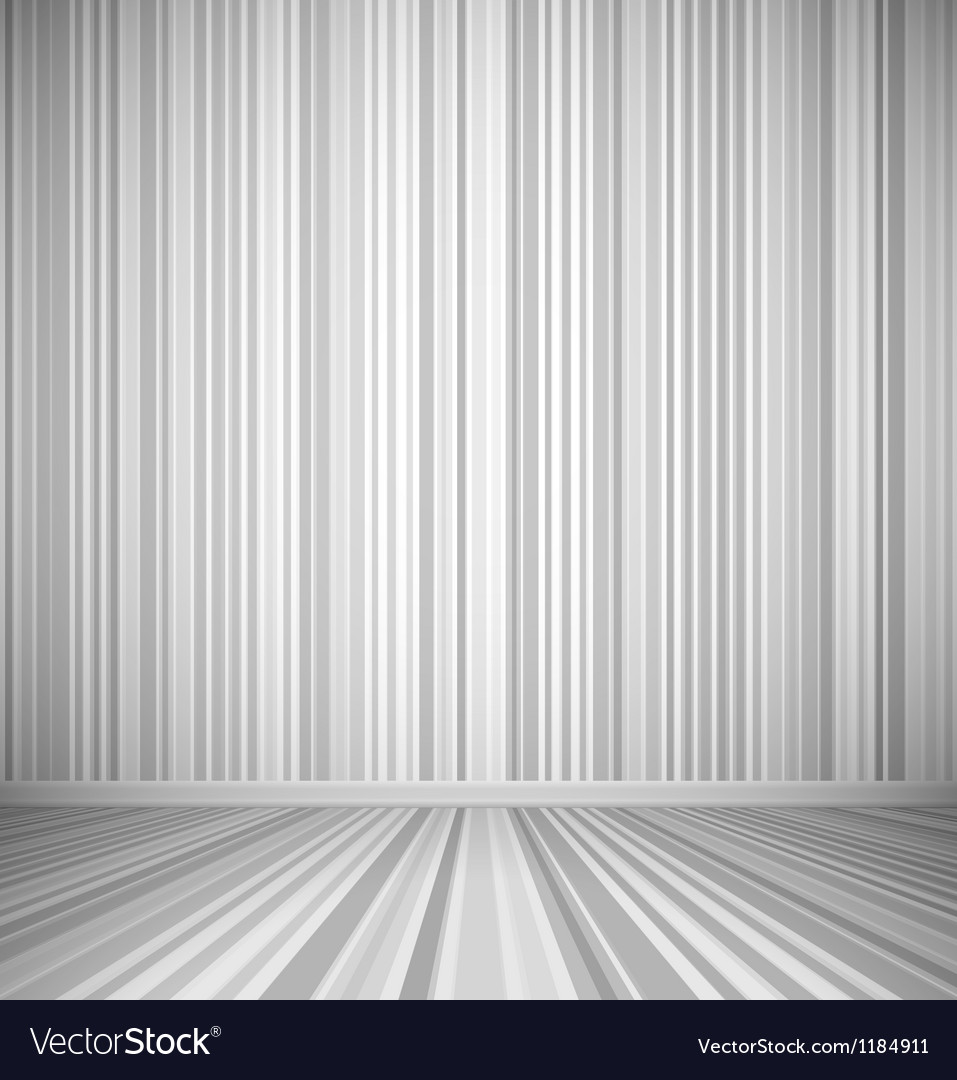 Gray empty room vector | Price: 1 Credit (USD $1)