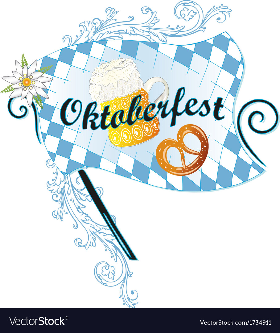 Oktoberfest decoration vector | Price: 1 Credit (USD $1)