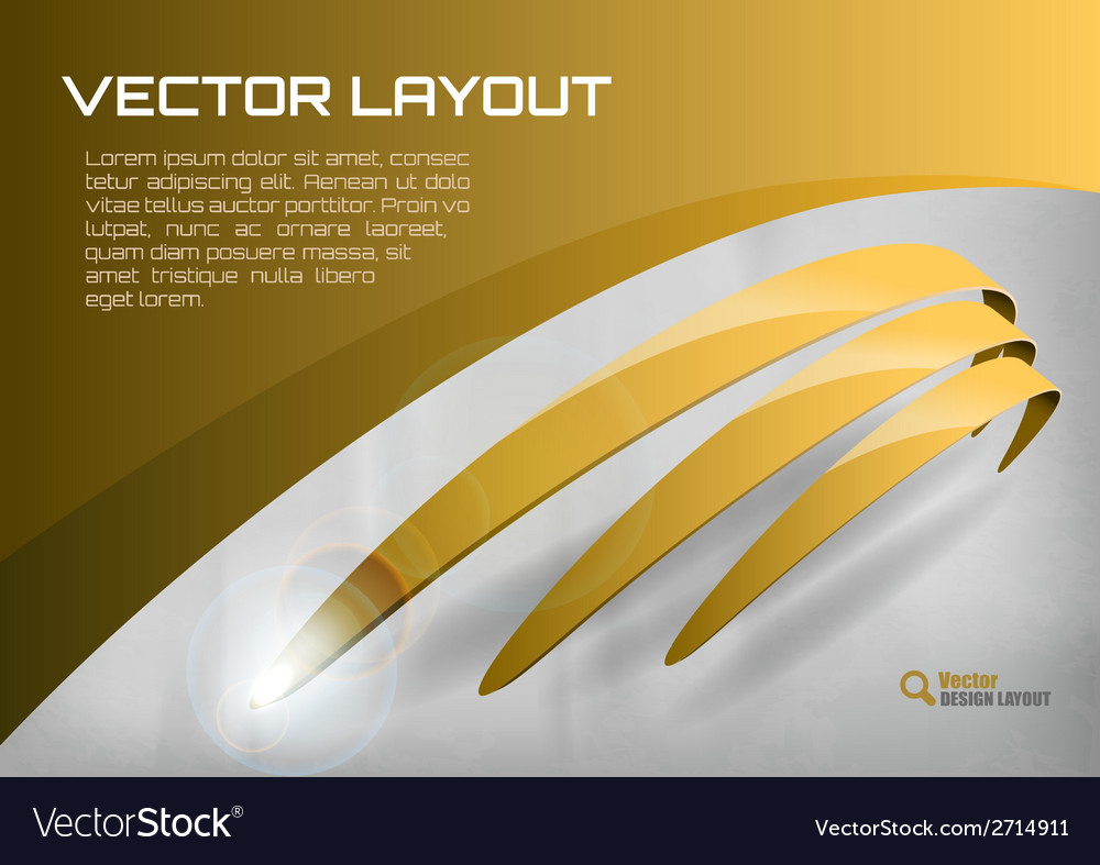 Stripes gold vector | Price: 1 Credit (USD $1)