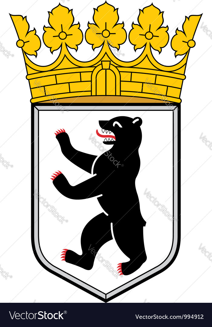 Berlin coat of arms vector | Price: 1 Credit (USD $1)