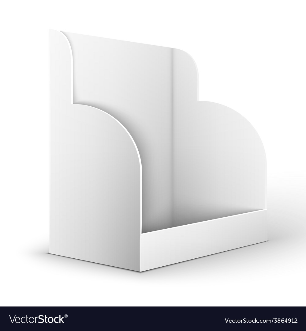 Blank empty holder for fliers vector | Price: 1 Credit (USD $1)