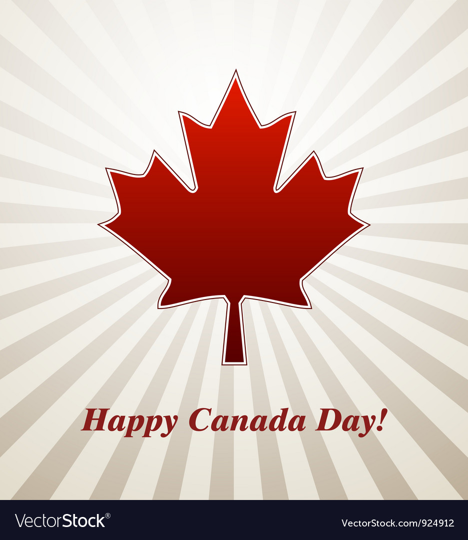 Canada day vector | Price: 1 Credit (USD $1)