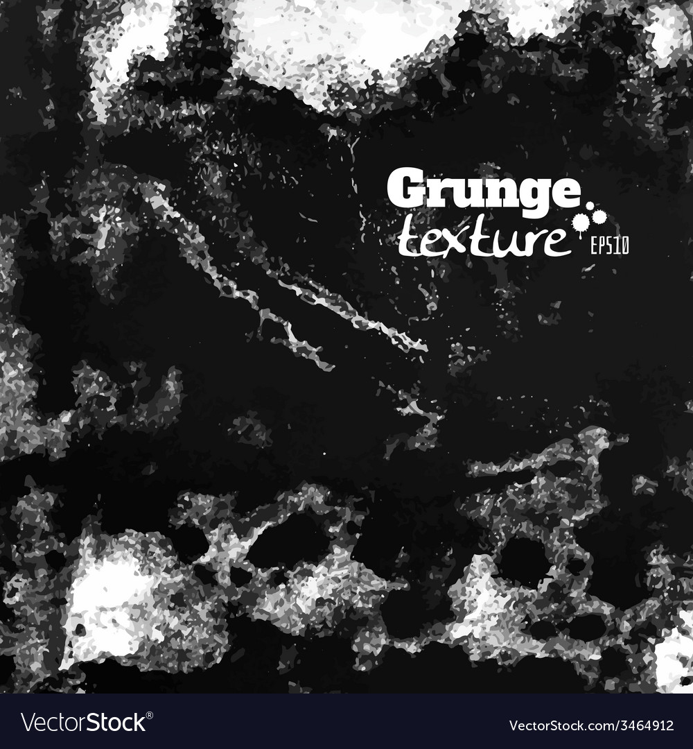 Grunge paint and water splattered texture vector | Price: 1 Credit (USD $1)