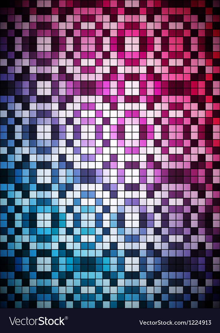 Checkered blue and purple background vector | Price: 1 Credit (USD $1)