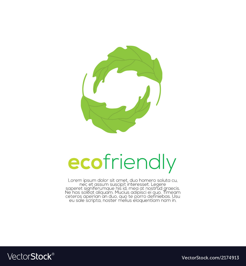Eco-friendly concept vector | Price: 1 Credit (USD $1)