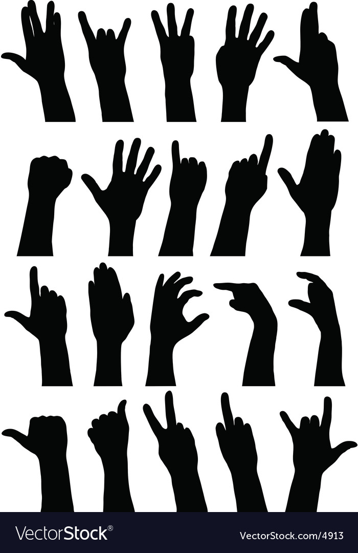 Hands vector | Price: 1 Credit (USD $1)