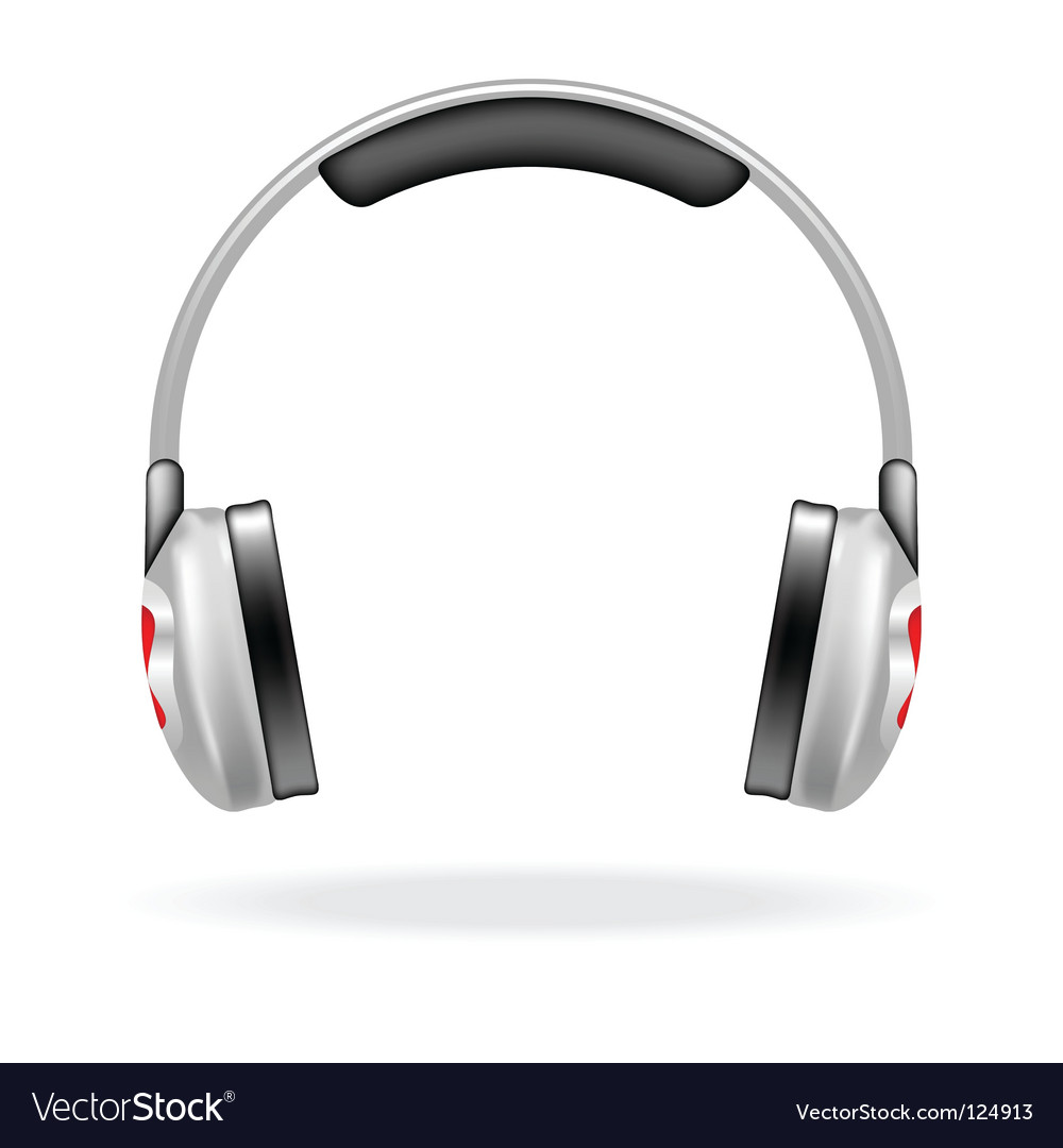 Headphones vector | Price: 1 Credit (USD $1)