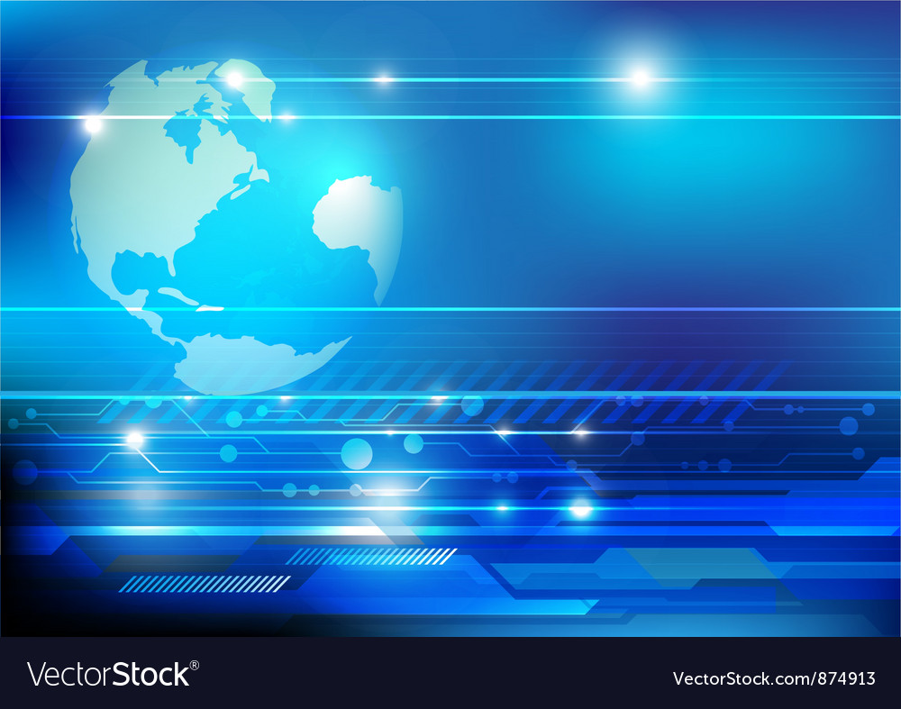 World concept technology vector | Price: 1 Credit (USD $1)