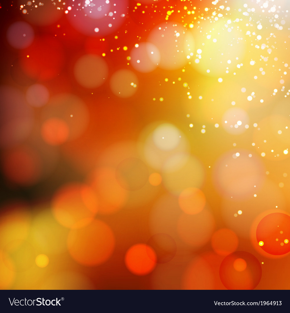 Yellow shine background vector