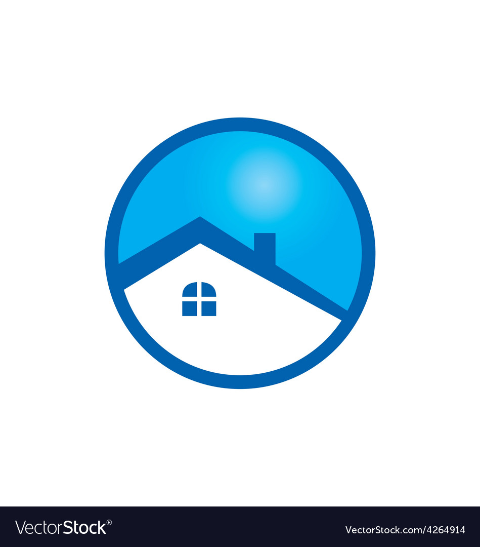 House icon logo vector | Price: 1 Credit (USD $1)