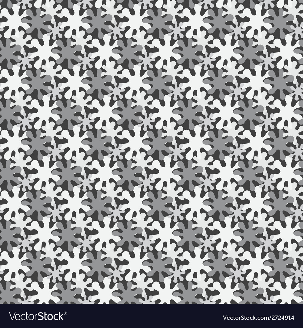 Monochrome seamless background from blots vector   Price: 1 Credit (USD $1)