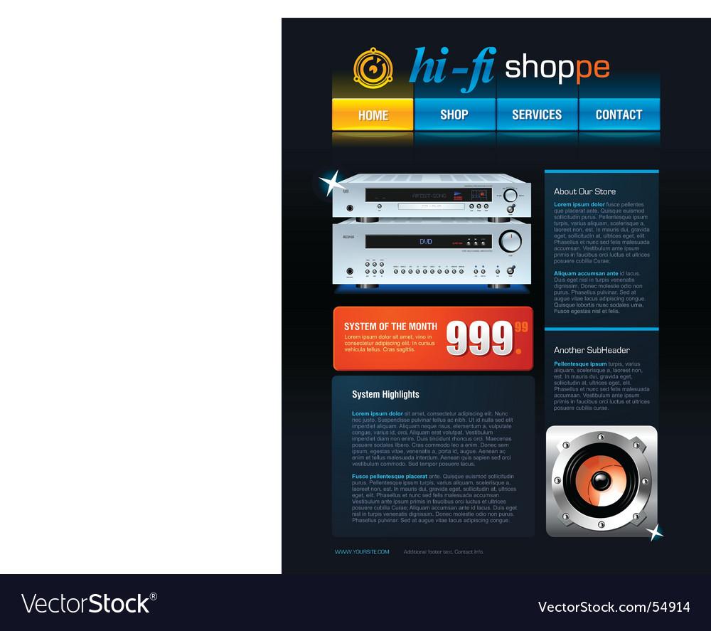 Web template vector | Price: 3 Credit (USD $3)