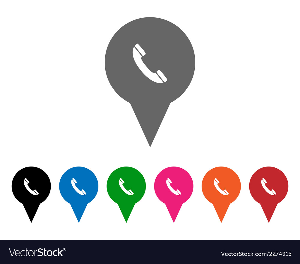 Phone pointers vector   Price: 1 Credit (USD $1)