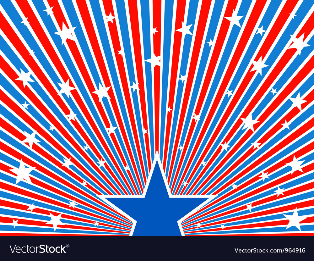 July 4th background vector | Price: 1 Credit (USD $1)