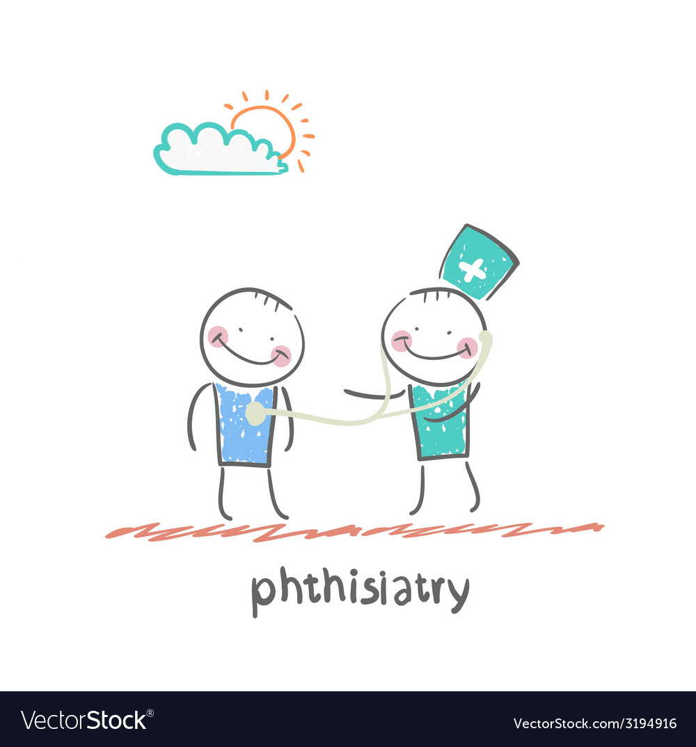 Phthisiatry vector | Price: 1 Credit (USD $1)