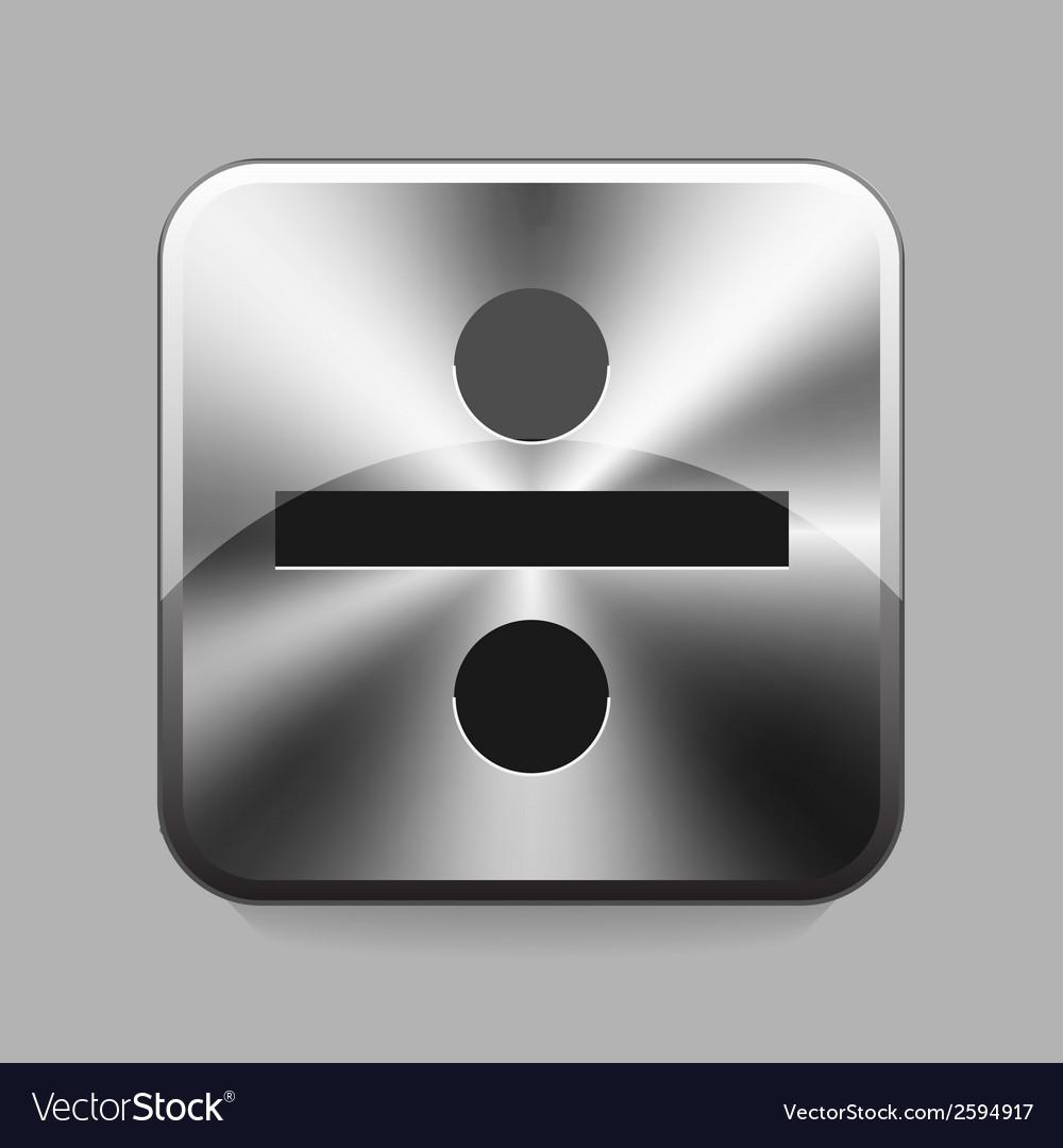 Metallic buton vector | Price: 1 Credit (USD $1)