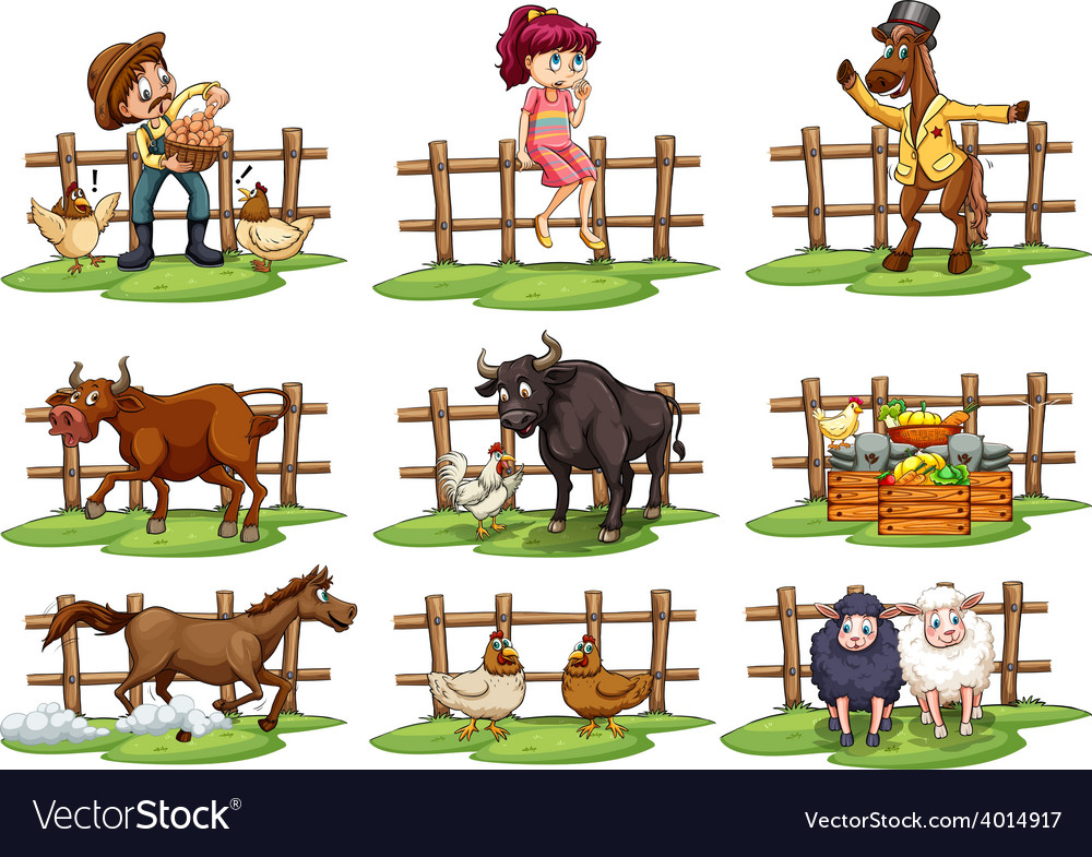 Set of fences vector | Price: 3 Credit (USD $3)