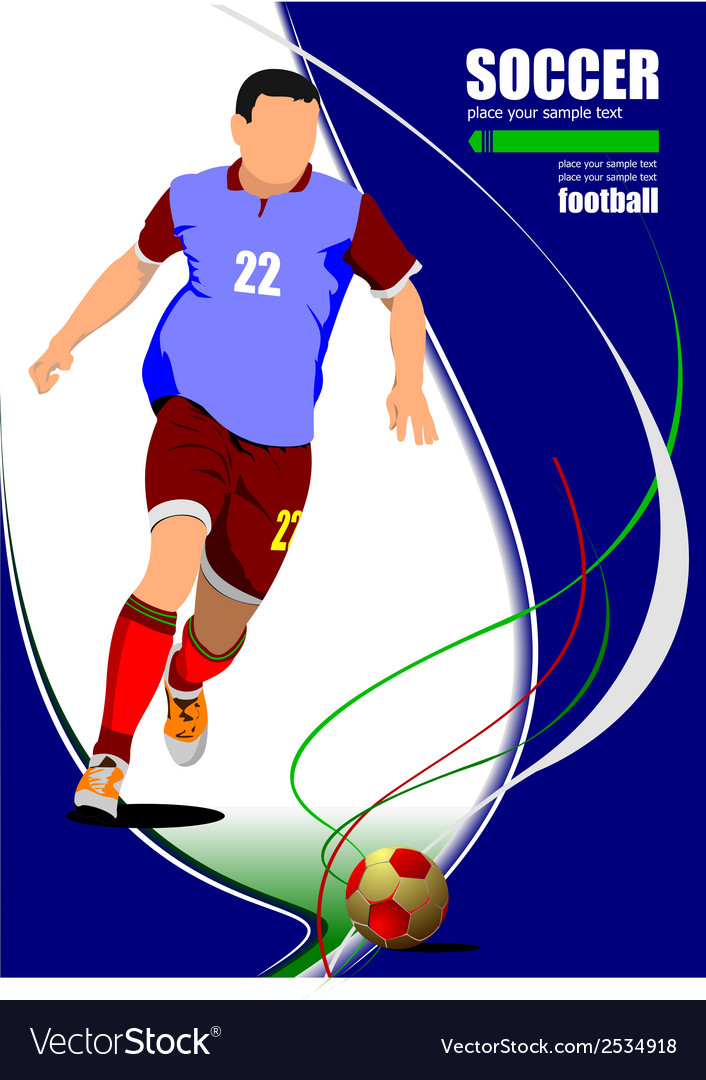 Al 0606 soccer 02 vector | Price: 1 Credit (USD $1)