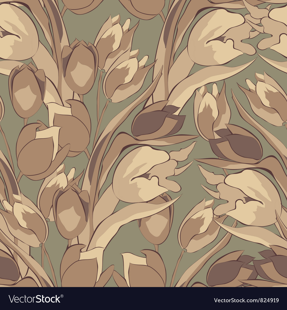 Original seamless wallpaper vector | Price: 1 Credit (USD $1)
