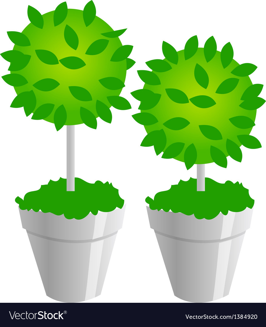 Icon plants vector | Price: 1 Credit (USD $1)