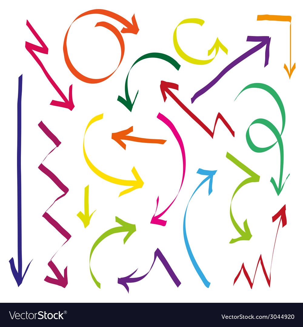Set of arrows vector   Price: 1 Credit (USD $1)