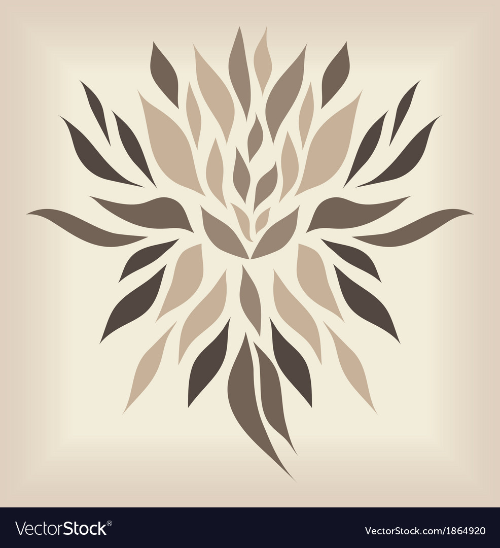 Vintage damask ornament background vector | Price: 1 Credit (USD $1)