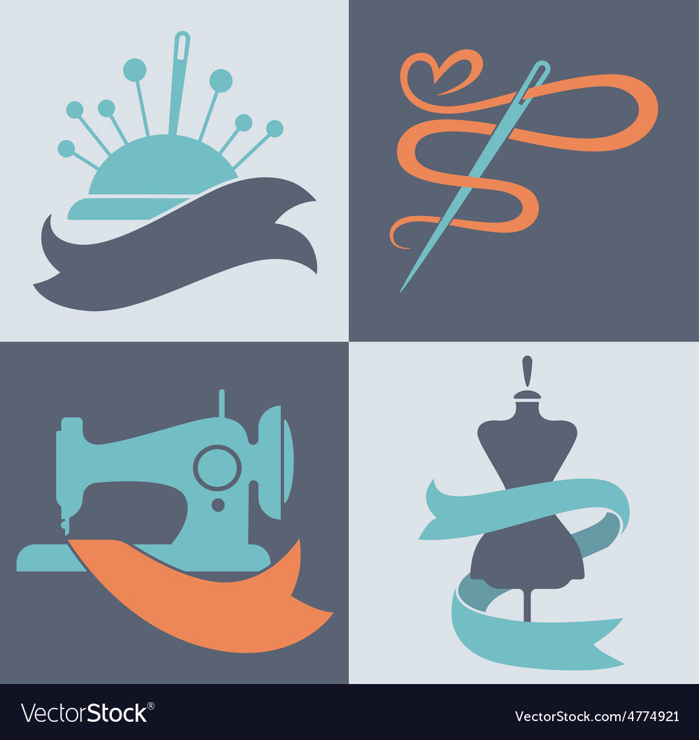 Tailor icons vector | Price: 1 Credit (USD $1)